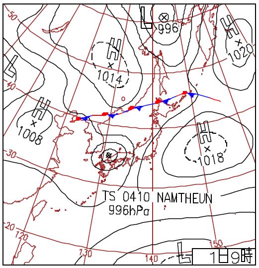 2004天気図