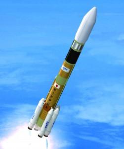 JAXAが開発中の新型基幹ロケット想像図 (C) JAXA